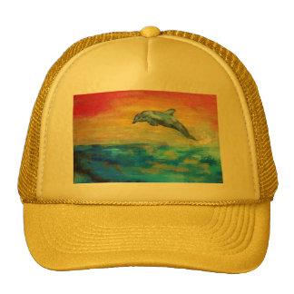 Dolphin BASEBALL CAP Mesh Hat