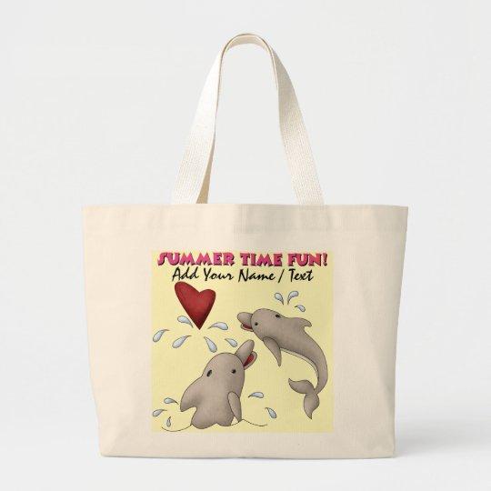 Dolphin Beach Bag Tote by SRF