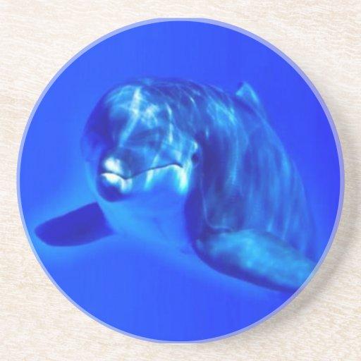 Dolphin Beverage Coasters