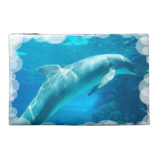 Dolphin Bubbles Travel Accessories Bag