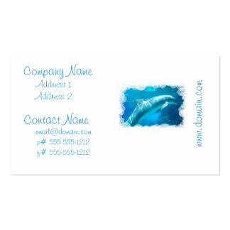 Dolphin Bubbles Business Cards