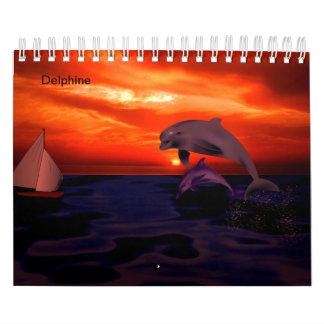 Dolphin calendar