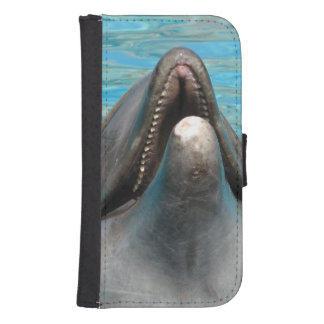 Dolphin Chatter Galaxy S4 Wallet Case