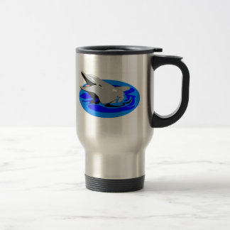 Dolphin Coffee Mug - Stainless Steel
