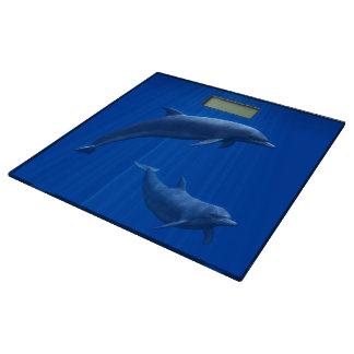 Dolphin Couple Bathroom Scale