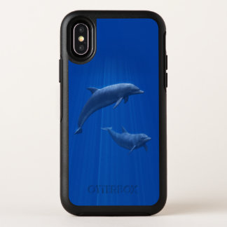 Dolphin Couple OtterBox iPhone X Case