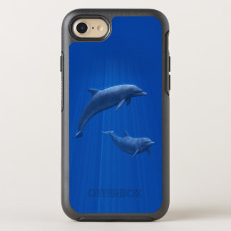 Dolphin Couple OtterBox Symmetry iPhone 7 Case