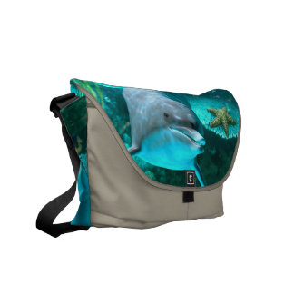Dolphin Courier Bag