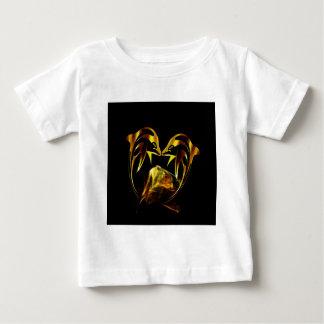 Dolphin crystal love baby T-Shirt