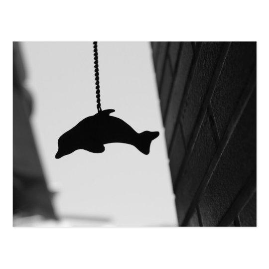 Dolphin Cutout Postcard