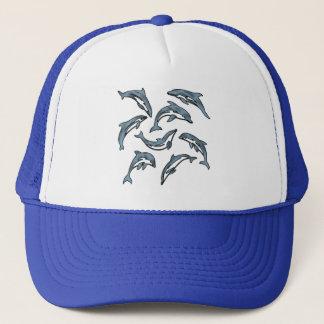 DOLPHIN DANCE 2 TRUCKER HAT