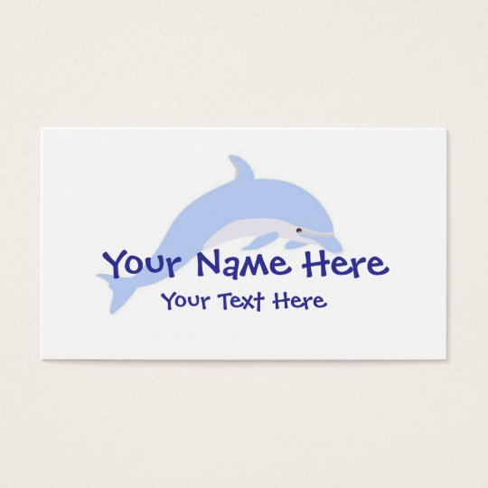 Dolphin Dance Business Card Template