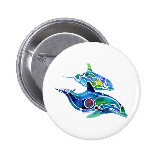 Dolphin Dance Button