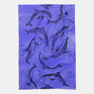 DOLPHIN DANCE Kitchen Towel