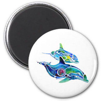 Dolphin Dance Magnet
