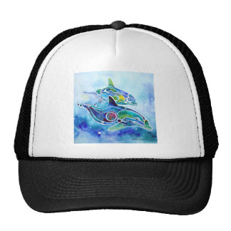 Dolphin Dance Trucker Hat
