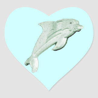 Dolphin Daytona Beach 2009 jGibney The MUSEUM Zazz Heart Sticker
