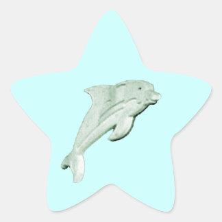 Dolphin Daytona Beach 2009 jGibney The MUSEUM Zazz Star Sticker