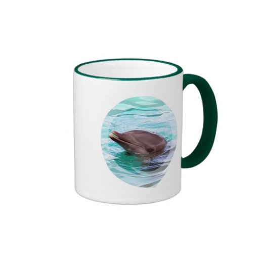 Dolphin Design Coffee Mug