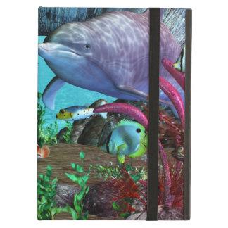 Dolphin Discovery 2 3D Aquarium iPad Air Cover