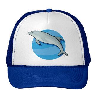 Dolphin Dolphins Marine Mammals Blue Ocean Animal Trucker Hat