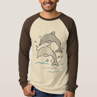 Dolphin Dolphins Marine Mammals Ocean T-Shirt