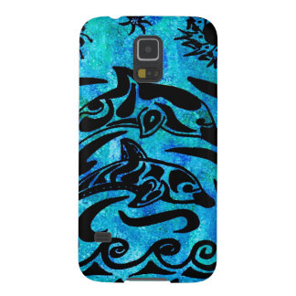 Dolphin Drawing Galaxy S5 Case