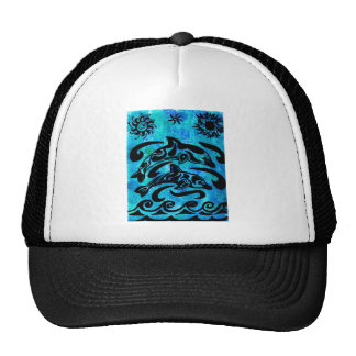 Dolphin Drawing Hats