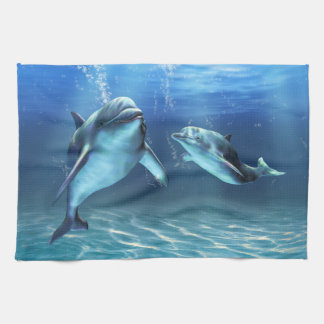 Dolphin Dream Kitchen Towel