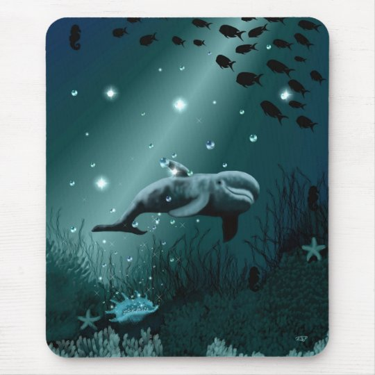 Dolphin Dream Mouse Pad