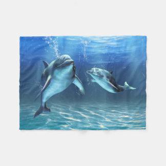 Dolphin Dream Small Fleece Blanket