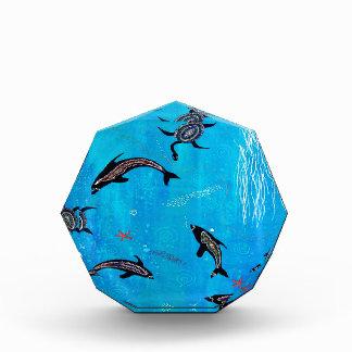 Dolphin Dreaming Acrylic Award