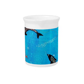 Dolphin Dreaming Drink Pitchers