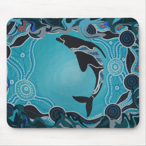 Dolphin Dreaming Mouse Mat