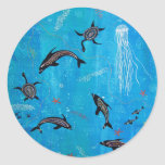 Dolphin Dreaming Stickers