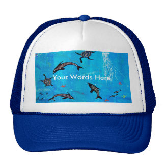Dolphin Dreaming Trucker Hat