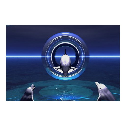 Dolphin Dreams Posters