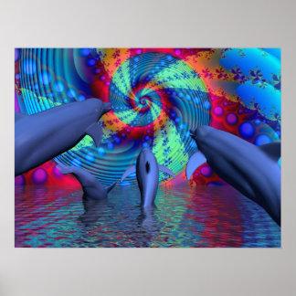 Dolphin energy print