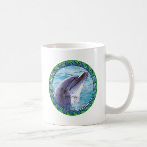 Dolphin Face Coffee Mug
