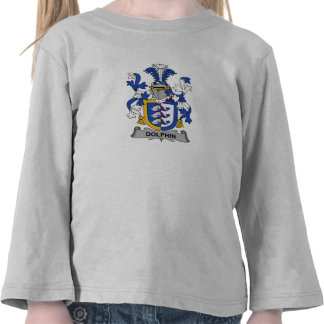 Dolphin Family Crest T Shirt