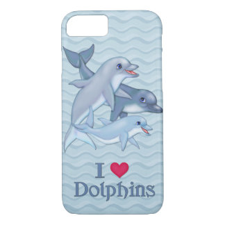 Dolphin Family iPhone 7 Case