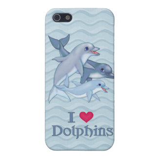 Dolphin Family iPhone SE/5/5s Case