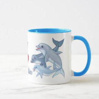Dolphin Family Mug