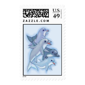 Dolphin Family Postage