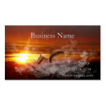 Dolphin Fantasy Double-Sided Standard Business Cards (Pack Of 100)