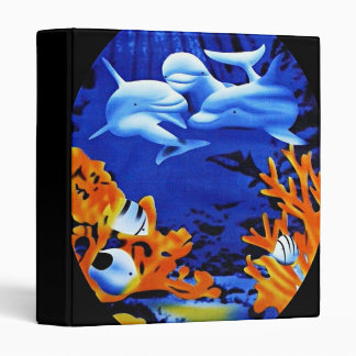 Dolphin fantasy print Avery Binder