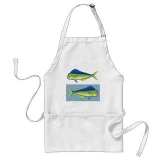 Dolphin Fish Adult Apron