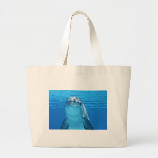 Dolphin Fish Animal Tropical Office Shower Party Tote Bags