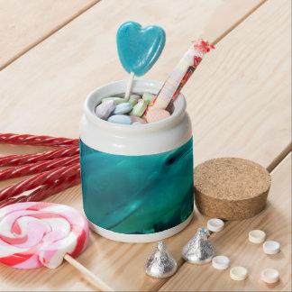 dolphin fish marine ocean under water swim candy jars