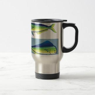 Dolphin Fish Travel Mug